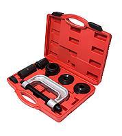 Forsage Набор инструментов для снятия и установки шаровых опор, подшипников, сайлентблоков 9 предметов, в