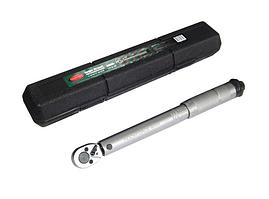 "ROCKFORCE Ключ динамометрический щелчкового типа 5-25Нм, 1/4"",в пластиковом футляре ROCKFORCE RF-6472270 14926"