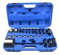 ROCKFORCE Набор инструментов для замены ступичных подшипников 25 предметов(размеры Ø60-85мм), в кейсе