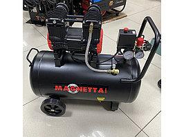 Воздушный безмасляный бесшумный компрессор на 50л Magnetta
