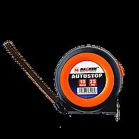 Рулетка измерительная с автостопом MAXIMUM 10м*25мм, трещетка