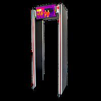 Арочный металлодетектор с функцией измерения температуры ZKTeco ZK-D2180S [TI ], 18 зон