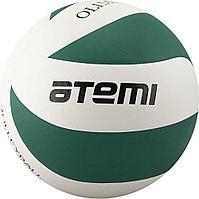 Мяч волейбольный Atemi, OLIMPIC, синтетическая кожа PU , зел.-бел