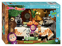 """Мозаика """"puzzle"""" 104 """"Маша и Медведь - 2"""" (Анимаккорд)"""