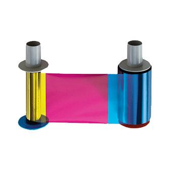 Лента полноцветная FARGO 84051 YMCK, с полимерной чёрной панелью 500 отпечатков