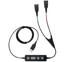Jabra Link 265 шнур для обучения Supervisor Y-шнур USB на 2xQD модуль управления и mute на шнуре (265-09)