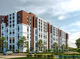 1 комнатная квартира в ЖК Люксембург 42.2 м²