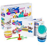 Набор для детского творчества «Мел-пластилин. Лепи и рисуй»