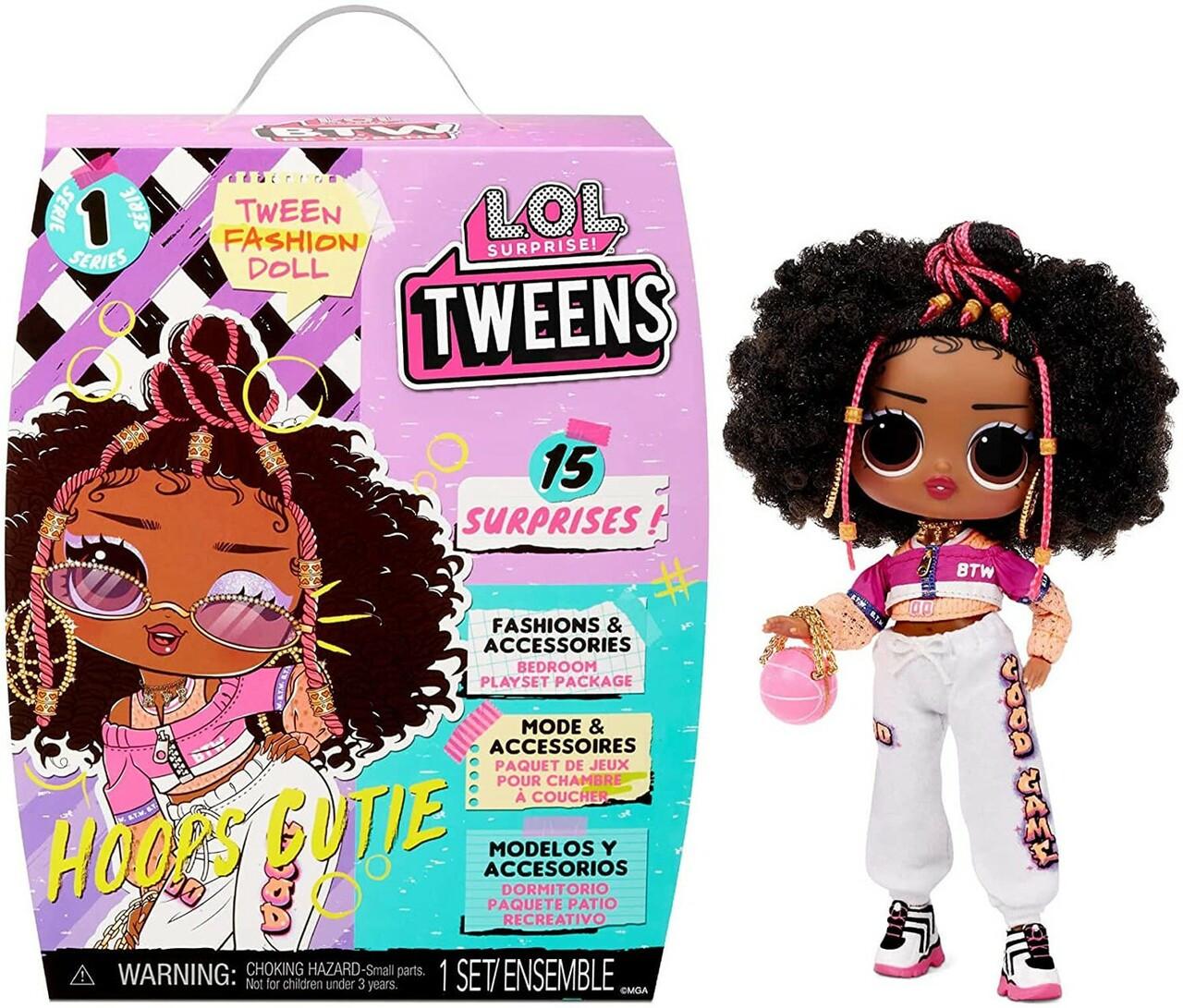 Модная кукла с обручем LOL Surprise BTW Series 1 Cutie