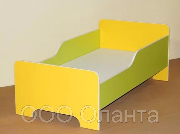 Кровать с бортами для детского сада (1200х640х510) арт. К1