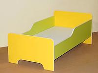 Кровать с бортами для детского сада (1200х640х510) арт. К1, фото 1