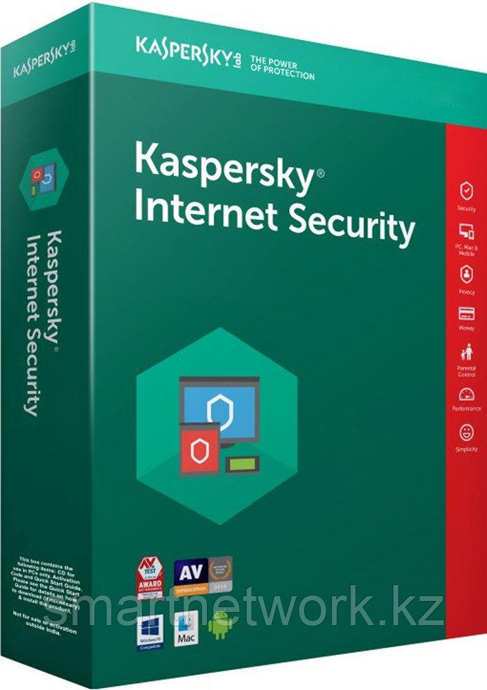 Антивирус kaspersky Anti-Virus Internet Security на 1 год для 2 устройств - лицензионная коробка