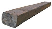 Шпала деревянная пропитанная для железных дорог широкой колей I тип