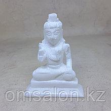 Статуэтка Шивы из белого мрамора