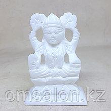 Статуэтка Лакшми из белого мрамора