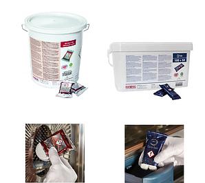Моющие и ополаскивающие средства для пароконвектоматов