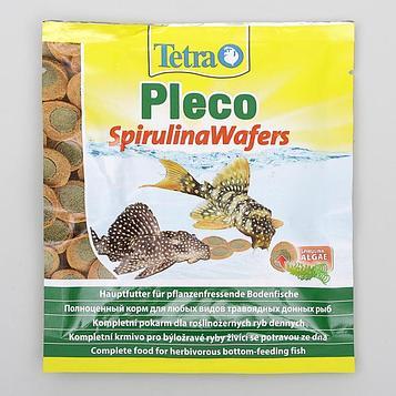 Корм для рыб Tetra Pleco Spirulina Wafers
