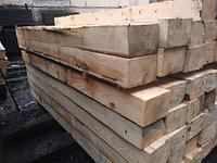 Шпала деревянная непропитанная для железных дорог широкой колей II тип