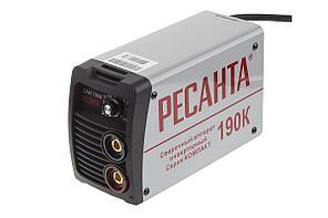 Сварочный инвертор РЕСАНТА САИ 190К 0-190А 0-5мм ПН-70%
