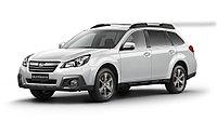 Переходные рамки для Koito Q5 на Subaru Outback IV (BR) дорестайл и рестайл (2009-2015);