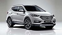 Переходные рамки на Hyundai Santa fe 2016-2017 Hella 3/3R