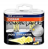 62193FBR-HCB лампа+60% света 2600K H4 12V 60/55W P43t FOG BREAKER уп.2шт