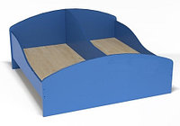 Кровать с бортами смежная для детского сада (1200х1248х510) арт. К2, фото 1