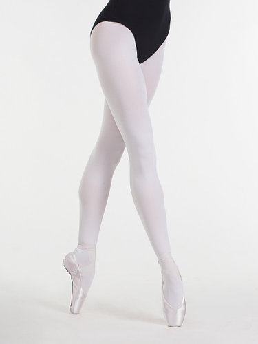 Колготки белые для балета, хореографии и народных танцев 80D Solo