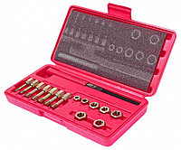 Набор JTC-3916 для восстановления резьбы m6x1.00-м12х1.75, 15 предметов (в кейсе)