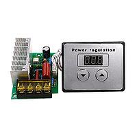 Регулятор напряжения, скорости, температуры, диммер AC220 В4000 Вт40A цифровое управление SCR
