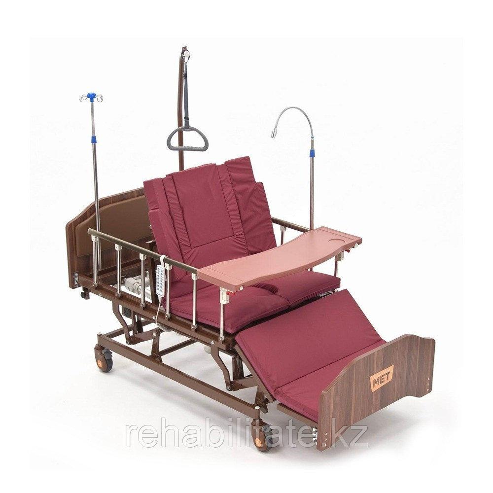 Кровать-кресло - для сна в положении сидя, для лежачих больных, с регулировкой высоты  МЕТ REALTA