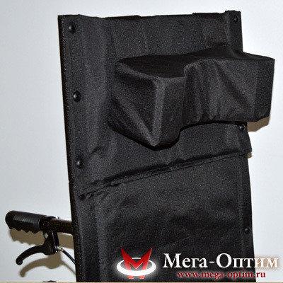 Коляска инвалидная механическая Мега-оптим 514А черная