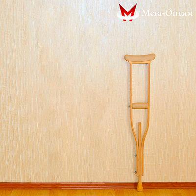 Костыли деревянные  Мега-оптим 01-КИ подростковые