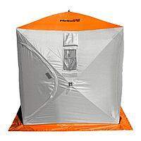 Палатка зимняя ТОНАР HELIOS КУБ оранжевый, R 84153