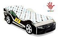 Детская кровать машина Супра черная