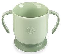Кружка Happy Baby на присоске Baby Cup With Suction Base 15022 Olive