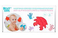 Набор антискользящих мини-ковриков ROXY-KIDS для ванны с пальчиковыми красками