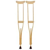 Костыли деревянные 02-К с УПС (подростковые) пара