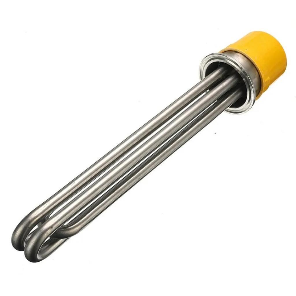 ТЭН сталь 4,5 кВт, кламп 2 дюйма, 26 см.