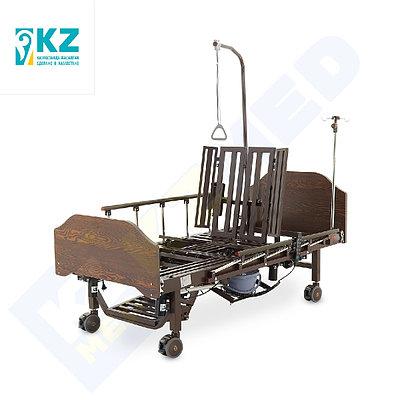 Кровать медицинская KZMED 512E, коричневый