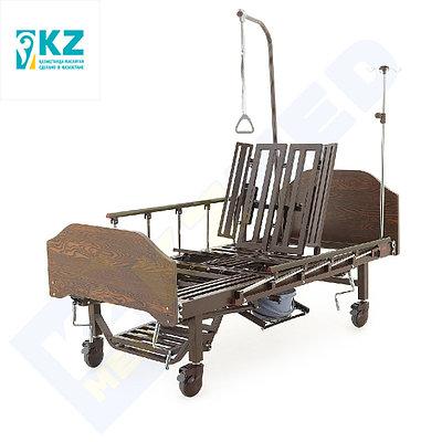 Кровать медицинская KZMED 512M, коричневый