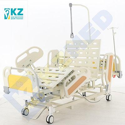Кровать медицинская KZMED 605E-UA спинки ABS, белый