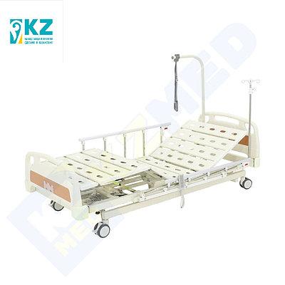 Кровать медицинская KZMED 605E-LE M спинки ABS, белый
