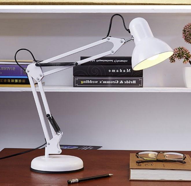 Настольная лампа направленного света (Белая)