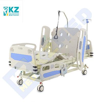 Кровать медицинская KZMED 704E спинки ABS, белая