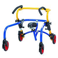 Сидение и передние стопора для моделей Плуто, синий/желтый