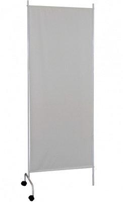 Ширма медицинская без колес 1 секция (полотно ПВХ, фиксация секций замком), белый мрамор