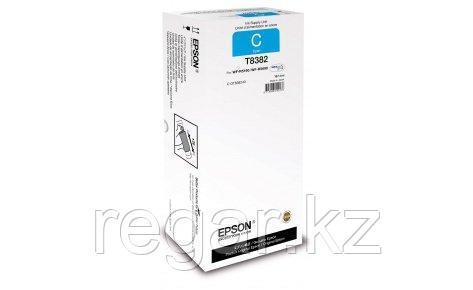 Картридж Epson C13T838240 WF-R5190DTW (RIPS)/WF-R5690DTWF (RIPS) голубой