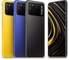 Poco M3 64gb, Blue, Yellow
