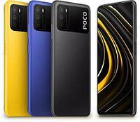 Poco M3 1284gb, Blue, Yellow, Black
